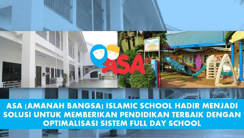 Gedung Sekolah Islam ASA Kota Bekasi - Full Day